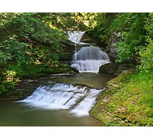 Old Mill Falls, Robert H. Treman State Park, New York Photographic Print