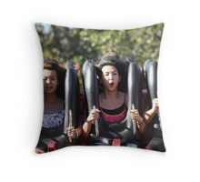 Fearful Excitement Throw Pillow