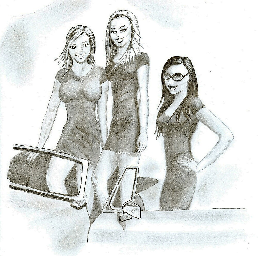 Grid Girls by Edzie