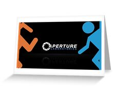Portal design Greeting Card