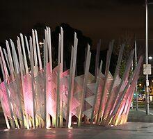 Bower bird nest sculpture, Redfern by Chen Lim