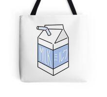 Milk Carton - blue Tote Bag