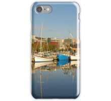 Victoria Dock, Hobart, Tasmania iPhone Case/Skin