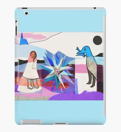 New Wedding - Blue  iPad Case/Skin