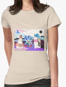 New Wedding - Blue  Womens Fitted T-Shirt