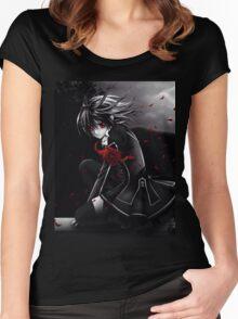 Vampire Knight Yuki Women's Fitted Scoop T-Shirt