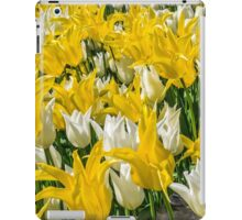Rays of Spring Tulips iPad Case/Skin