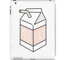 Milk Carton - peachy iPad Case/Skin