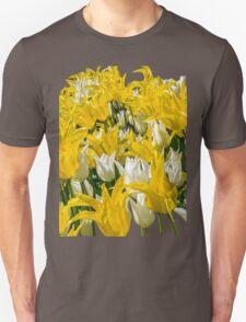 Rays of Spring Tulips Unisex T-Shirt