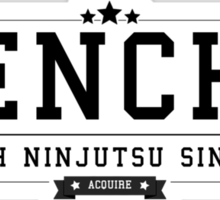 Tenchu - Retro Black Clean Sticker