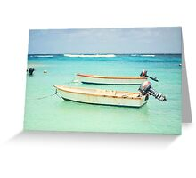 Caribbean Sea Greeting Card