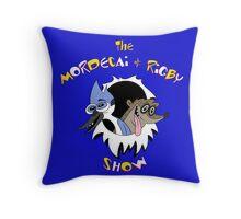 The Mordecai & Rigby Show Throw Pillow