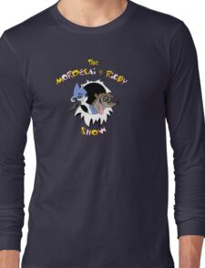 The Mordecai & Rigby Show Long Sleeve T-Shirt