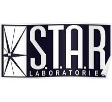 The Flash : STAR Laboratories Poster