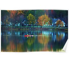 SCENIC FALL VIEW Poster