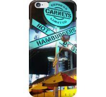 school bus burger iPhone Case/Skin