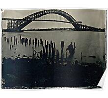 Bayonne Bridge, NJ. Tintype Photograph Poster