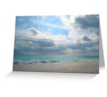 Elbow Beach Greeting Card