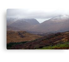 Winter In Kerry Canvas Print