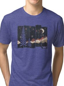 Starry Night in the Mountains... Tri-blend T-Shirt