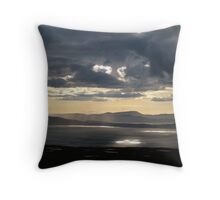 Lightshow 2 Throw Pillow