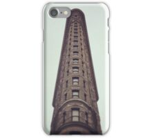 Flatiron Building Sky View iPhone Case/Skin