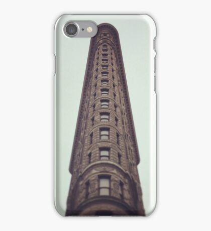 Flatiron Building Sky View iPhone Case/Skin