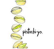 Pistachi-YO.  Photographic Print