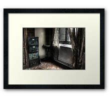 Back Office Framed Print