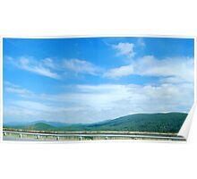 Virginia Mountains Poster