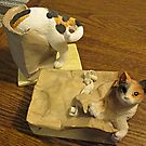 Comical Cat Collectibles by Jane Neill-Hancock