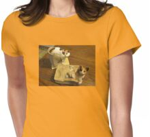 Comical Cat Collectibles Womens Fitted T-Shirt