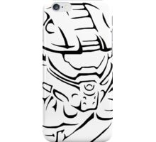 Master Chief Headshot Celtic iPhone Case/Skin
