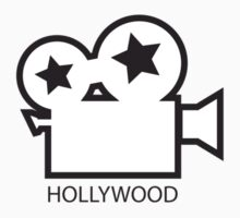 Hollywood film camera - California illustration by rachjacobs