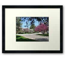 Once upon A time In The Country Framed Print