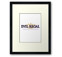 Evil Regal (2) Framed Print