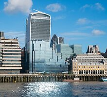 City of London by martinberry