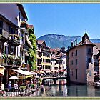 """ Annecy France"" by Malcolm Chant"