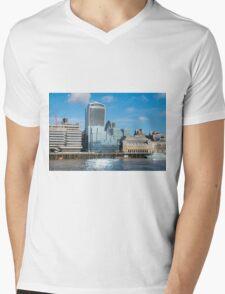 City of London Mens V-Neck T-Shirt