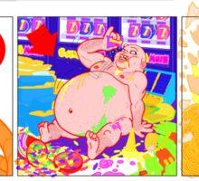NO FAT CHICKS 1 Sticker