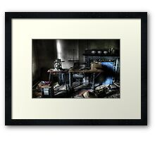 Housekeeping Framed Print