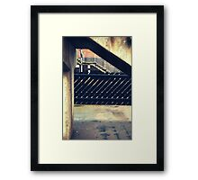 Thirsk Train Station Framed Print
