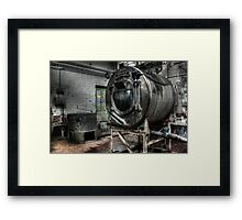 Giant washing machine Framed Print