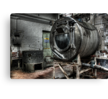Giant washing machine Canvas Print