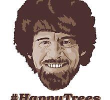 Happy Trees | Bob Ross by geekychick