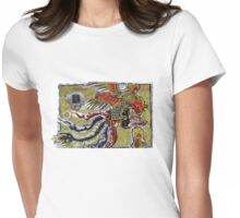 Enter The Dragon Womens Fitted T-Shirt