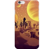 Desolated Dessertscape iPhone Case/Skin