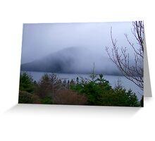 Misty Island Greeting Card