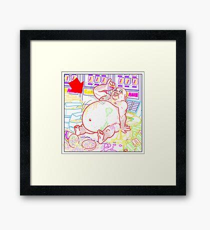 Candy Mush 1 Framed Print