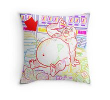 Candy Mush 1 Throw Pillow